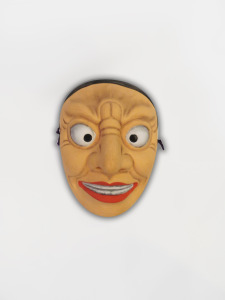 Male mask ceramic Japan