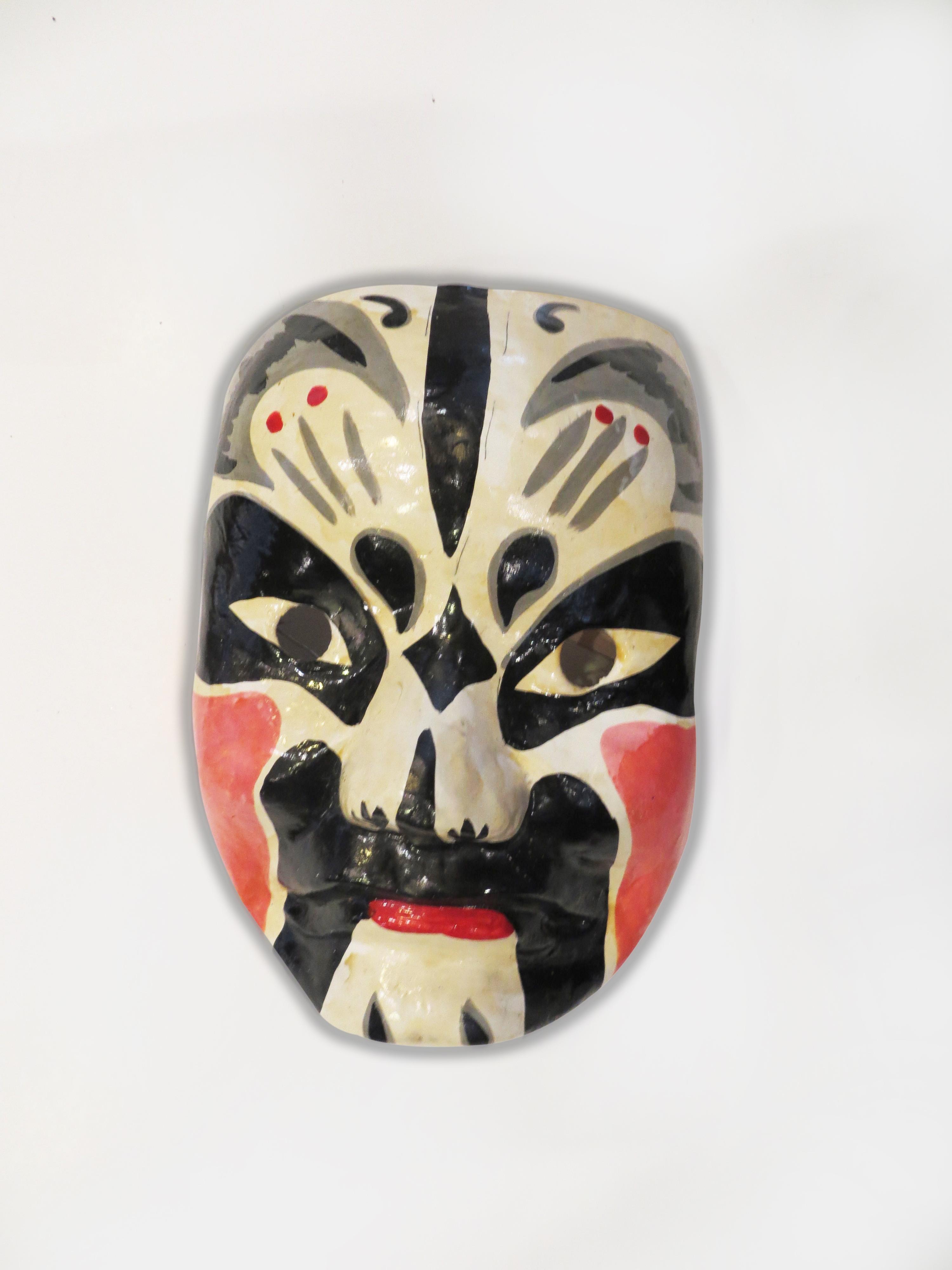 Canadian Society For Asian Arts Opera Mask China