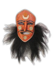 Shaman Mask Lhass, Tibet