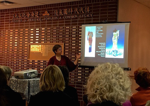 Jean Kares Delivers a CSAA Co-Sponsored Lecture at the CCC.