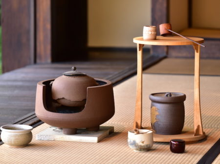 Old customary Japanese tea service; Shutterstock ID 558249670; Name of User: -; Department: -; PO: -; Job: -